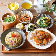 Breakfast Lunch Dinner, Food Menu, Lunches And Dinners, Food Presentation, Food Plating, Japanese Food, Summer Recipes, Asian Recipes, Love Food
