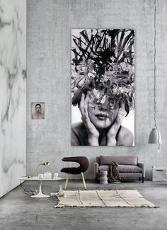 Urban. City. Rough. Clean. Cool. Lonly. Simple. Minimal. Modern. Berlin. Concrete. Inspiration. Art. Abstract. Big & Small. Vintage. Old. Odd. Space. Industrial. Design. Livingroom.