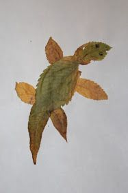 Just four days ago,me and my son went for a walk in the park.we gathered leaves and rocks.i knew in my mind what i want to do with the leave...