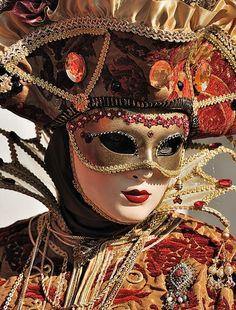 Venetian masks...                                                                                                                                                                                 Mais