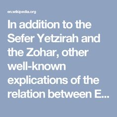"""In addition to the Sefer Yetzirah and the Zohar, other well-known explications of the relation between Ein Sof and all other realities and levels of reality have been formulated by the Jewish mystical thinkers of the Middle Ages, such as Isaac the Blind and Azriel.[4] Judah Ḥayyaṭ, in his commentary Minḥat Yehudah on the Ma'areket Elahut, gives the following explanation of the term """"Ein Sof"""":  Any name of God which is found in the Bible can not be applied to the Deity prior to His…"""