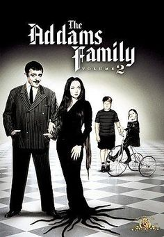 Rent The Addams Family: Vol. 1 starring Carolyn Jones and John Astin on DVD and Blu-ray. Get unlimited DVD Movies & TV Shows delivered to your door with no late fees, ever. The Addams Family 1964, Die Addams Family, Adams Family, Family Tv, Family Values, Morticia Addams, Ted Cassidy, John Astin, Carolyn Jones
