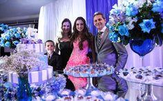 Juliana Froner arrasa ao apostar em decoração azul e branca em sua festa de 15 anos. Inspire-se! - 15 anos - CAPRICHO