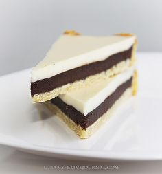 Двухцветный тарт