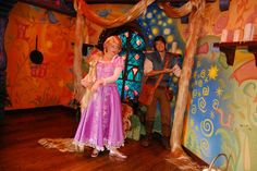 I miss rapunzel's room at Disneyland.  Now its anna and elsas meeting spot