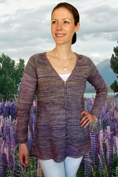 Lupin Cardigan to Knit K2.60 - via @Craftsy