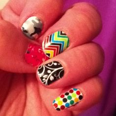 Jamberry Nails...I can't wait to try out the pattern I bought last night!!!