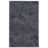 Found it at Wayfair - Colorscape Geometric Blue & Grey Area Rug