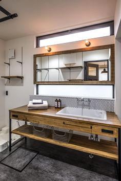 Laundry Room Design, Home Room Design, Interior Design Kitchen, Modern Interior Design, Interior Styling, House Design, Mini Bad, Japan Interior, Interior Design And Construction