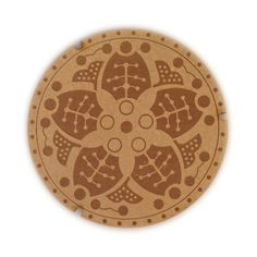 SML - Japanese Manhole Coasters. Made in Seattle, USA. #designbysml