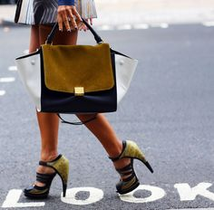 LFW 2013 Céline bag, Jason Wu shoes