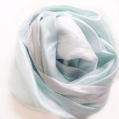 Mint Green scarf, Birthday Light Green Infinity scarf, Handmade Silk scarf, Birthday gift for Coworker gift, Circle scarf  #AnniversaryGift #GiftForNeice #GiftForHer #GiftFromDadHer #GiftFromBrother #Under253050 #SeafoamScarfCircle #MoroccoScarf #LightGreenScarf #GiftForMother