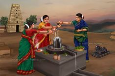 This page provides information on Hindu festival Maha Shivaratri. Maha Shivaratri is also popularly known as Shivaratri. Indian Women Painting, Indian Art Paintings, Shiva Art, Krishna Art, Lord Krishna, Festivals Of India, Indian Festivals, Indian Traditional Paintings, India Painting
