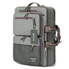1ed2f707cc5900 SLICK 3 Way Bag Mens Laptop Backpack College School Bag Shoulder Bag 338