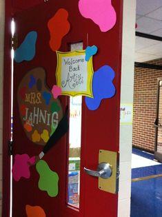 Tales From The Traveling Art Teacher!: Art Room | Art Classroom | Pinterest  | Teacher, Room And Art Room Doors