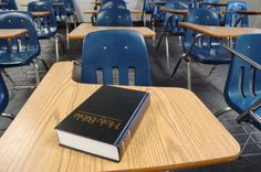 One Louisiana school's solution to a Buddhist family when they complained about Christianity being taught in school - convert.
