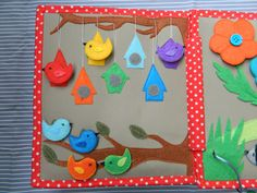Quiet book Sensory toy Quiet book toddler quiet book pages