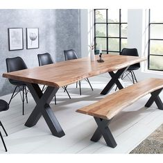 """c872ad0bb1f8 Malvarosa luxusný nábytok on Instagram  """"Industrialny jedálensky stôl za  ktory sa isto zmestí celá vaša rodina 😍😍😍  industriálnýštýl🔝   luxusnynabytok ..."""