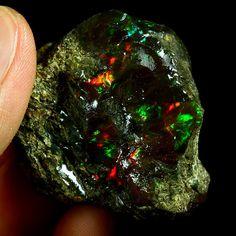 Ethiopian Black Opal