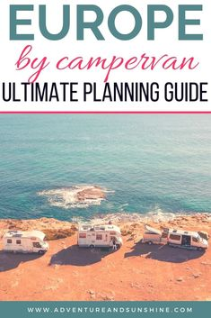 Complete Planning Guide for Europe by Camper Everything you need to know when planning your RV Europe Road Trip. We share our best tips for camping, cooking, best travel gear, how to save money and travel on the road European Road Trip, Road Trip Europe, European Travel, Travel Around Europe, Travel Around The World, Family Road Trips, Family Travel, Group Travel, Family Camping