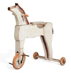 antique horse trike