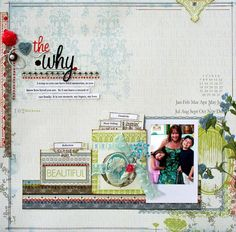 scrapbook pages with small pockets!