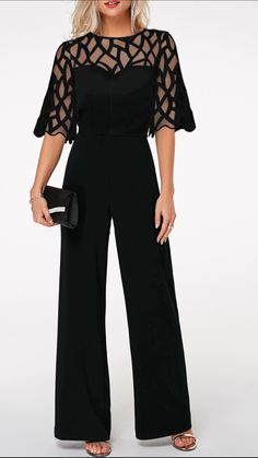 2020 Jumpsuit outfits - Classy jumpsuit rompers, chic office wear, elegant jumpsuits for women. Up to 60 2019 Jumpsuit outfits - Classy jumpsuit rompers, chic office wear, elegant jumpsuits for women. Elegante Jumpsuits, Jumpsuit Elegante, Edgy Outfits, Mode Outfits, Office Outfits, Office Uniform, Casual Office, Classy Outfits, Classy Casual