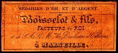 cartouche de Boisselot 1840