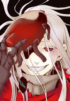 Deathman Wonderland. To bloody anime.