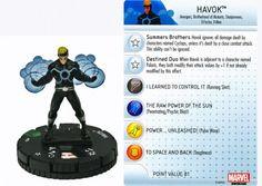 Havok #024 Wolverine and the X-Men Marvel Heroclix