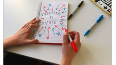 A round-up of how to register to vote on social media