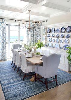 Cozy Coastal Beach House - beach style - dining room - orange county - Bliss Home & Design