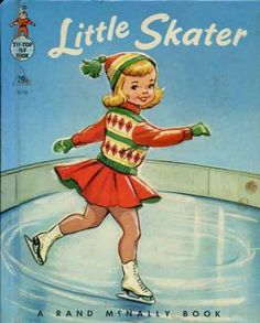 """Little Skater""  Little Golden Book. Recycled Book Journal. Just $14. All Golden Books include the entire text included with the finished journal. Also? Bonus!!! I will, upon request, make a video of me reading ANY golden book to you and post said video to YouTube. Just make a note in checkout page. Here's a link to the Golden Book section of our website: http://bookjournals.com/journals/little-golden-books Or, you know, just click on this image. Love, Jacob"