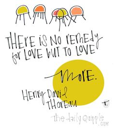 We Can Always Love More | The Daily Quipple