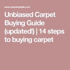 Unbiased Carpet Buying Guide 2019 steps to buying carpet]