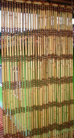 1000 ideias sobre cortinas de bambu no pinterest - Cortina de bambu ...