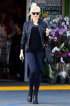 Gwen Stefani street style.