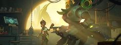 Orisa and Efi, two amazing new characters in the game!