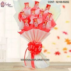 Love Guru Chocolate Bouquet ( Valentine Day Gift New Relationship ) Chocolate Tree, Types Of Chocolate, Chocolate Bouquet, Valentines Day Gifts Boyfriends, Boyfriend Gifts, Valentine Day Gifts, Send Chocolates, Handmade Chocolates, Bouquet Delivery