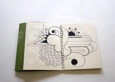 Doodles/illustration style.