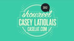 www.caselat.com twitter.com/caselat ______________________________  I'm Casey Latiolais and I'm a motion graphics artist. I'm working for Bruton Stroube Studios in St. Louis. Song by Bibio - K is for Kelson ______________________________  0:09  Mr. Cube - GSG 5 second project 0:14  S2N Design demo 0:16  Harding Academy 60th Anniversary 0:19  iProfessional 0:21  Net Integrations logo animation 0:26  Medtronic Interstim GUI animation 0:28  Intechra - Hard drive wipe …