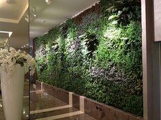 Klima Hotel, Milano, Italy - GIARDINI VERTICALI INDOOR   Flickr - Photo Sharing!