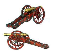 Russian Artillery 12lb Gun - Seven Years War