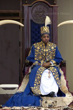 Africa | Uganda's King of the Tooro Kingdom, King Oyo Nyimba Kabamba Iguru Rukidi IV, during his 18th birthday and coronation celebrations in Karuzika Royal Palace at Fort Portal. King Oyo is one of the world's youngest ruling monarchs. He ascended to throne at age three after his father, King Olimi Kaboyo, died of a heart attack in 1995. He rules over more than 2 million people in the Tooro kingdom, one of four kingdoms allowed by the government to exist in Uganda | © Benedicte Desrus