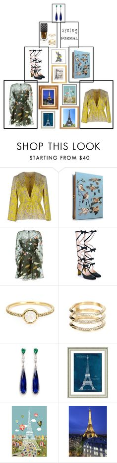 Paris Spring by letmedress on Polyvore featuring Valentino, Giambattista Valli, Gucci, Olympia Le-Tan, Anabela Chan, Ileana Makri, Irene Neuwirth and Vintage Print Gallery