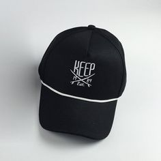 Stylish Letters Embroidery and Drawstring Embellished Hip Hop Baseball Cap #hats, #watches, #belts, #fashion, #style