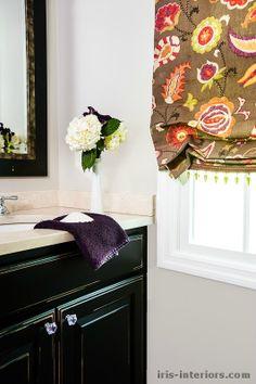 Sophisticated kids bathroom by Iris Interiors