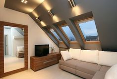 loft conversion lighting ideas