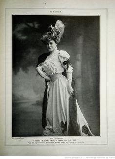 Les Modes : revue mensuelle illustrée des Arts décoratifs appliqués à la femme | 1905-10 | Gallica