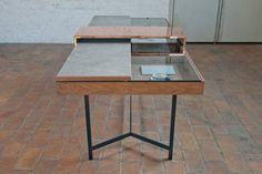 Virtu-Scinium sliding desk by De Intuïtiefabriek